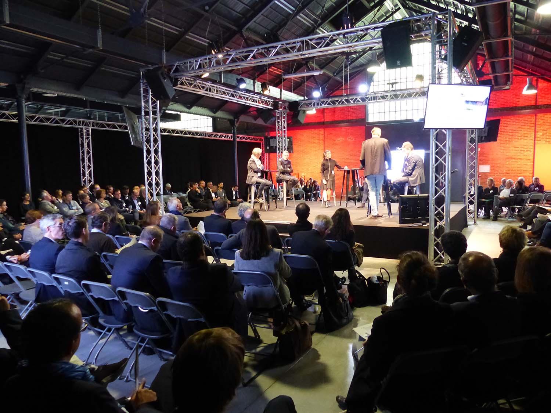Courrouze - Conférence - Scène centrale