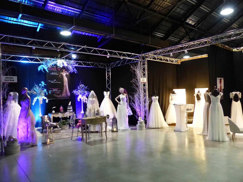 La Halle De La Courrouze - Stands - Salon Du Mariage (2)