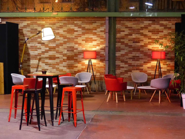 La Halle Martenot - Cocktail - Espace Détente
