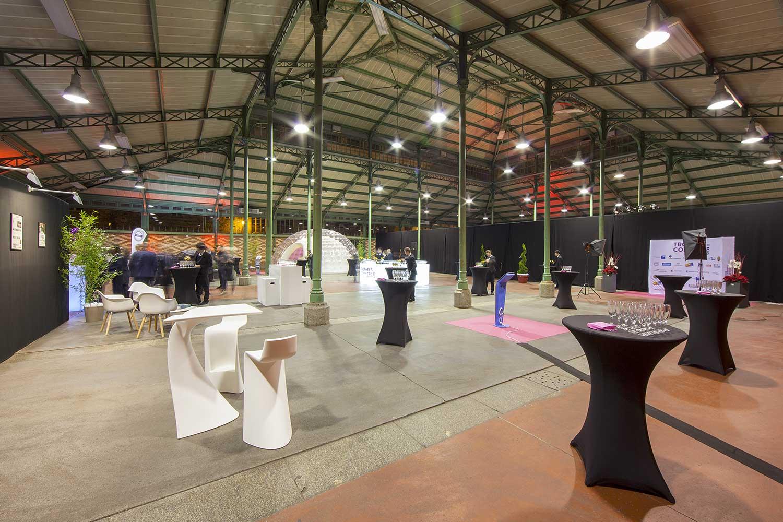 La Halle Martenot - Cocktail - Partenaire - Crédit David Leforestier