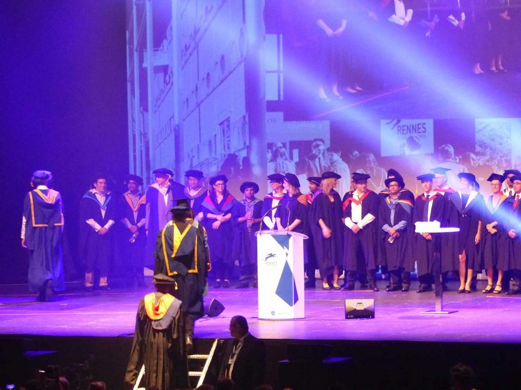 Remise de diplômes – ESC Rennes