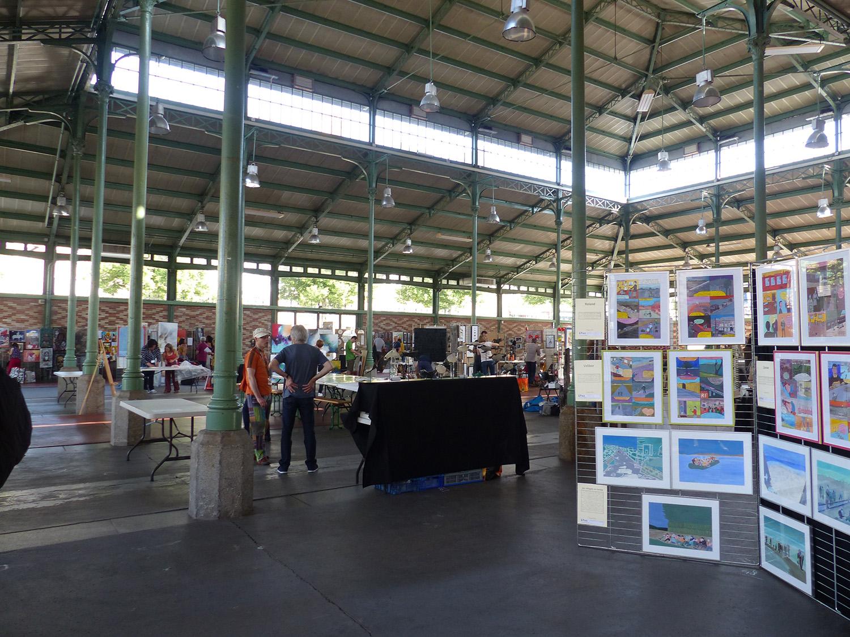 Le Petit Marché De L'art Halle Martenot