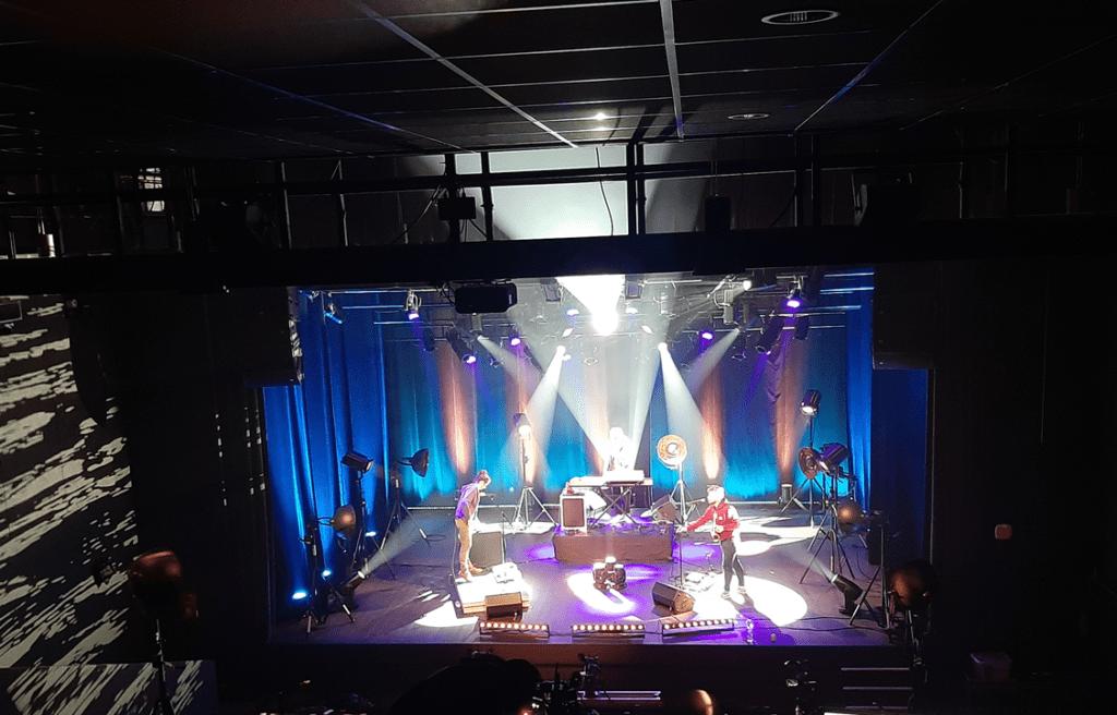 Captation vidéo de concerts